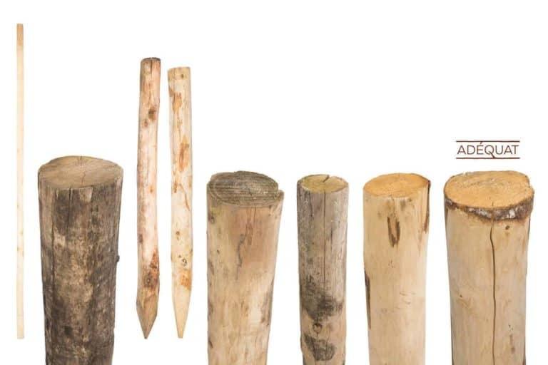 houten palen Adéquat