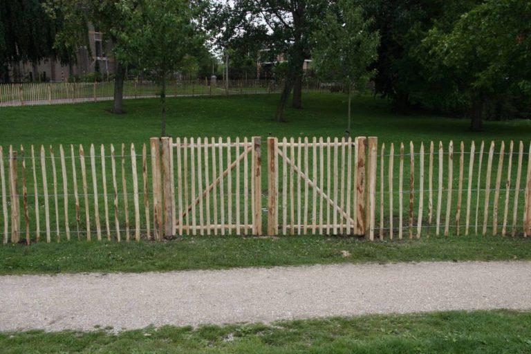 portail en bois sur mesure