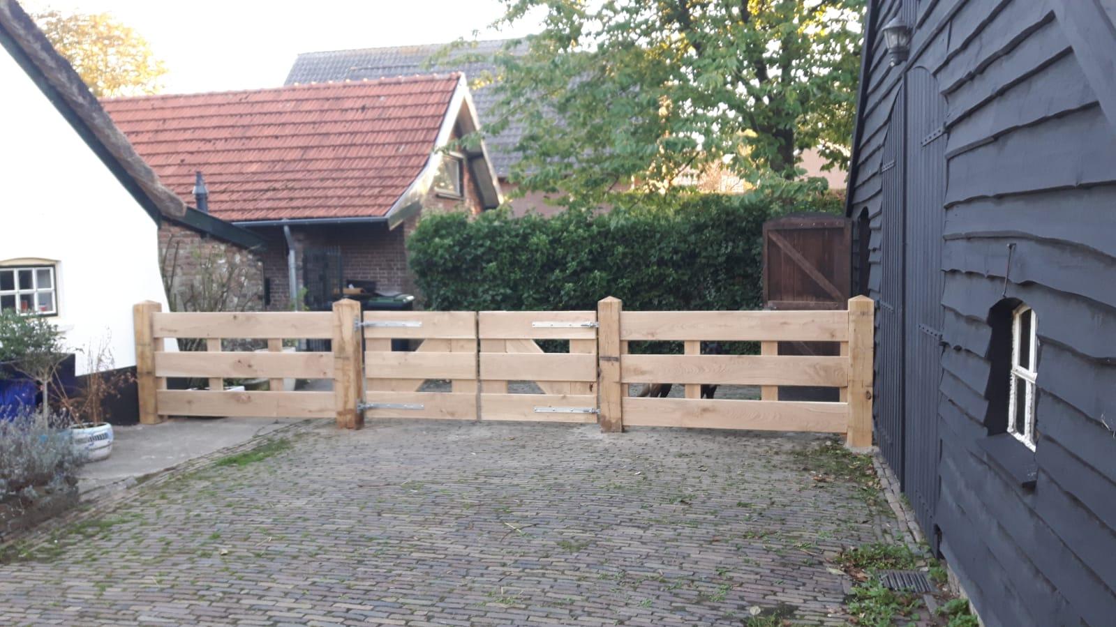portail bois sur mesure