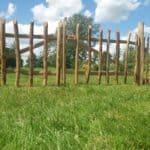 Kastanjehouten schapenhek 100 cm Adequat