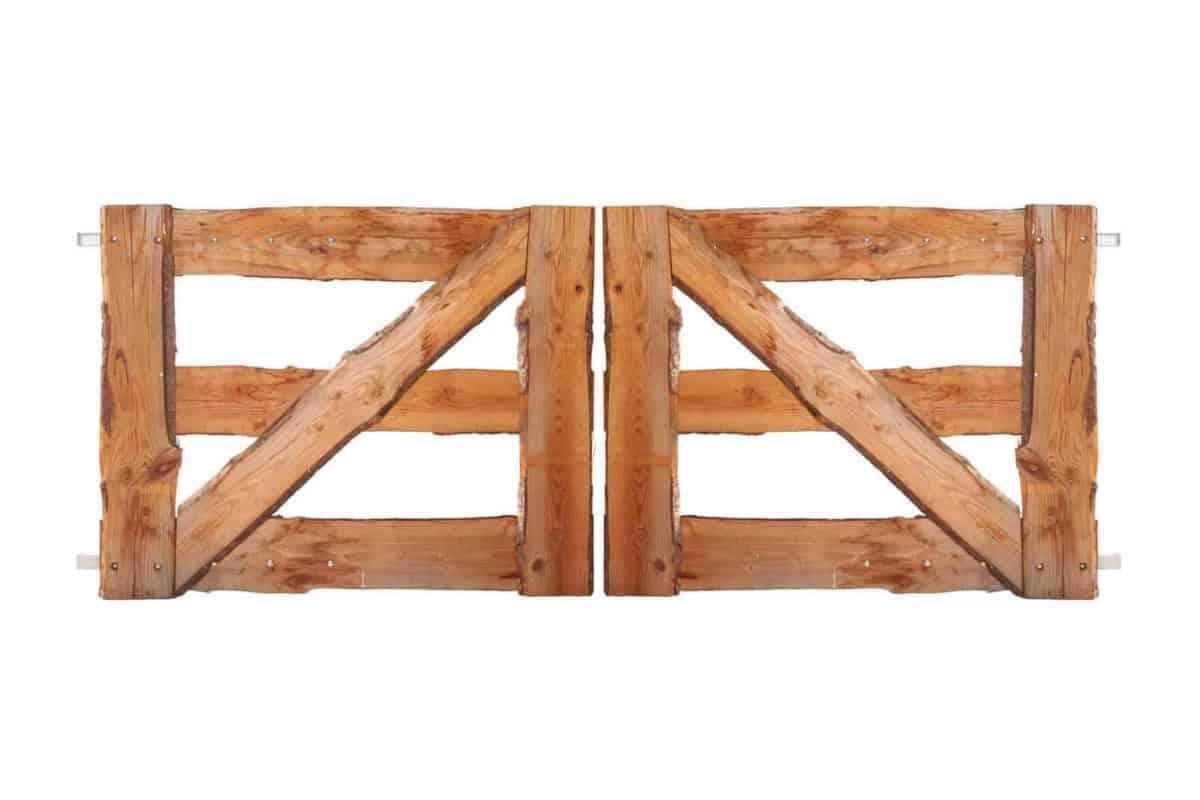 plankpoort dubbel