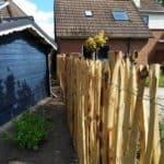 Kastanjehouten Schapenhek 150 cm hoog met latafstand 8 cm HD