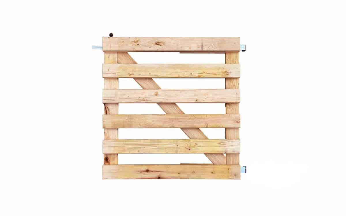 Goedkope houten poort