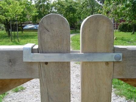 Hang- en sluitwerk Nederlandse poort